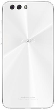 Смартфон ASUS ZenFone 4 ZE554KL белый 5.5 64 Гб NFC LTE Wi-Fi GPS 3G 90AZ01K5-M01220 смартфон asus zenfone 3 zoom ze553kl серебристый 5 5 64 гб lte wi fi gps 3g 90az01h1 m00770