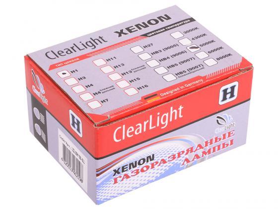 Комплект ламп ксеноновых Clearlight H1 5000K (2шт.) asus g60j купить в москве