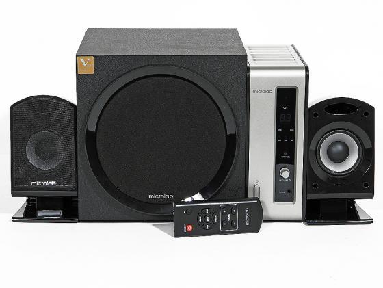 Купить Колонки Microlab FC550 24+2х15 Вт черный беспроводной ПДУ Колонки