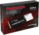 Твердотельный накопитель SSD M.2 240 Gb Kingston Predator PCIe Read 1290Mb/s Write 600Mb/s PCI-E SHPM2280P2H/240G4