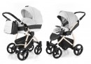 Коляска 2-в-1 Esspero Grand Newborn Lux (шасси beige/white leatherette)