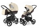 Коляска 2-в-1 Esspero Grand Newborn Lux (шасси black/cream leatherette