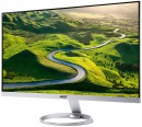 "Монитор 27"" Acer H277HUsmipuz серебристый IPS 2560x1440 350 cd/m^2 4 ms VGA DVI HDMI DisplayPort USB UM.HH7EE.0184"
