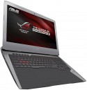 "Ноутбук ASUS G752Vm 17.3"" 1920x1080 Intel Core i7-6700HQ 1Tb + 256 SSD 16Gb nVidia GeForce GTX 1060 6144 Мб серый Windows 10 Home 90NB0D61-M004402"