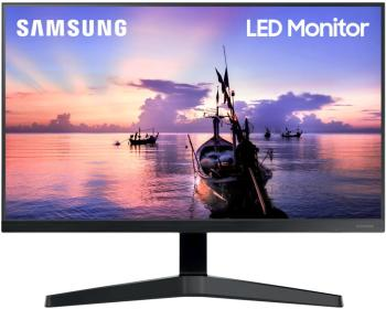 "23,8"" SAMSUNG F24T350FHI Black (IPS, 1920x1080, D-sub+HDMI, 5 ms, 178°/178°, 250 cd/m, 1000:1)"