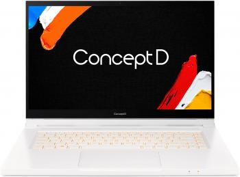 "Ноутбук Acer ConceptD 3 Ezel CC315-72G-74M6 15.6"" 1920x1080 Intel Core i7-10750H 512 Gb 16Gb WiFi (802.11 b/g/n/ac/ax) Bluetooth 5.0 nVidia GeForce GTX 1650 Ti 4096 Мб белый Windows 10 Professional NX.C5PER.002"