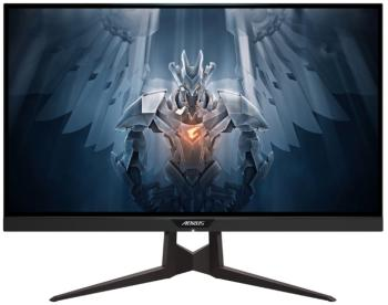 "Монитор 27"" GigaByte AORUS FI27Q Gaming Monitor черный IPS 2560x1440 350 cd/m^2 1 ms HDMI DisplayPort Аудио USB FI27Q-X-EK"
