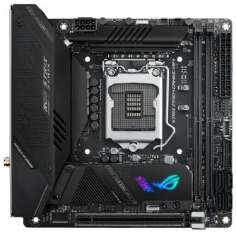 Материнская плата ASUS ROG STRIX Z590-I GAMING WIFI Socket 1200 Z590 2xDDR4 1xPCI-E 16x 4 mini-ITX Retail