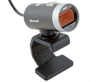 Веб-Камера Microsoft Lifecam Cinema HD USB H5D-00015