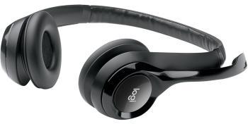 Гарнитура Logitech USB Headset H390 черный