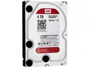 "Жесткий диск 3.5"" 4 Tb 5400rpm 64Mb cache Western Digital Red SATAIII WD40EFRX"