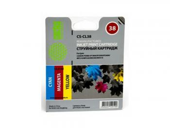 Картридж Cactus CS-CL38 для Canon PIXMA iP1800 iP250 /iP2600 MP210 220 MX300 310
