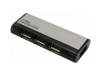 Концентратор USB 2.0 Aten UH284Q6 4 x USB 2.0 черный