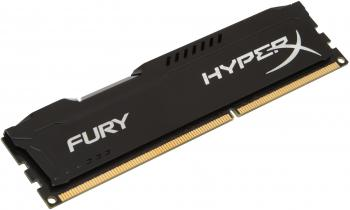 Оперативная память 8Gb PC3-15000 1866MHz DDR3 DIMM CL10 Kingston HX318C10FB/8 HyperX FURY Black Series