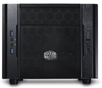 Корпус mini-ITX Cooler Master Elite 130 Без БП чёрный RC-130-KKN1