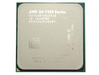 Процессор AMD A6 X2 7400K 3.5GHz 1Mb AD740KYBJABOX Socket FM2 BOX