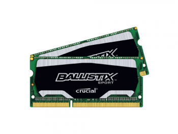 Оперативная память для ноутбуков SO-DDR3 8Gb(2x4Gb) PC3-14900 1866MHz Crucial BLS2C4G3N18AES4CEU unbuffered Retail