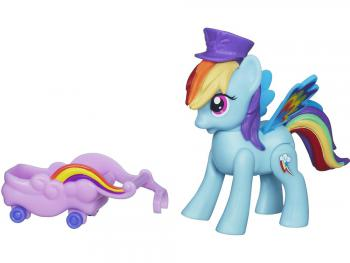 Игровой набор Hasbro My Little Pony Rainbow Dash 3 предмета А6240