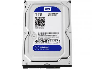 "Жесткий диск 3.5"" 1 Tb 5400rpm 64Mb cache Western Digital Blue WD10EZRZ"