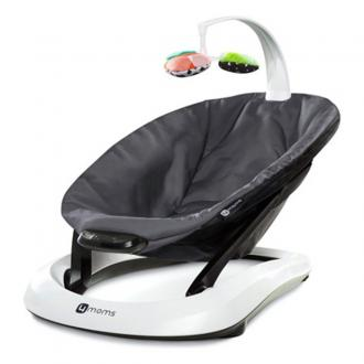 Шезлонг 4moms BounceRoo (dark grey plush)