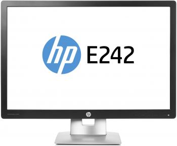 Монитор HP EliteDisplay E242 серебристый
