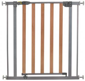 Bорота безопасности Hauck Wood Lock Safely Gate (silver)