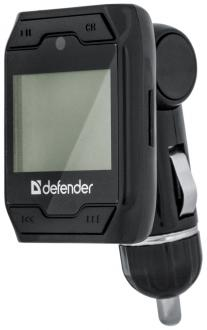 FM трансмиттер Defender RT-Play MP3 USB SDHC Micro-SDHC Пульт ДУ 68008