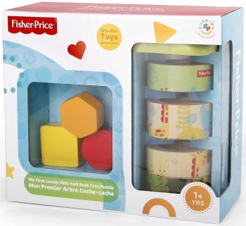 Пазл деревянный 8 элементов Fisher Price Дерево ФП-1012