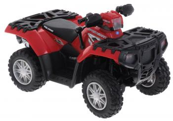 Квадроцикл Tomy Polaris ATV 1:16 красный