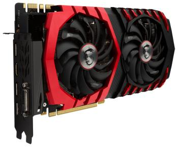 Видеокарта 8192Mb MSI GeForce GTX 1070 GAMING X 8G  PCI-E 256bit GDDR5 DVI HDMI DP Retail