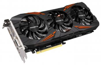 Видеокарта 8192Mb Gigabyte GeForce GTX1070 G1 GAMING PCI-E 256bit GDDR5 DVI HDMI DP GV-N1070G1 GAMING-8GD Retail