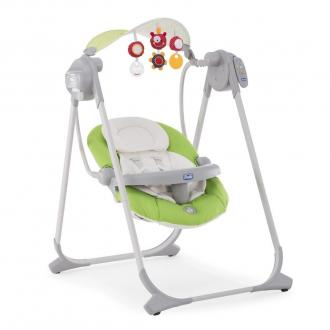 Качели электронные Chicco Polly Swing Up (green)