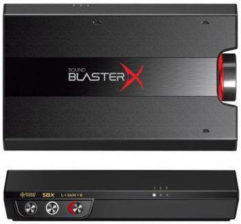 5af0a19cbe2b0 Звуковая карта USB Creative Sound BlasterX G5 7.1 70SB170000000 Retail