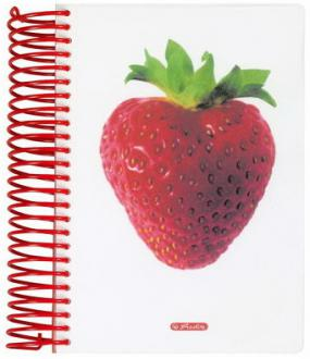 Блокнот Herlitz STRAWBERRY A6 200 листов 10927317 10927317
