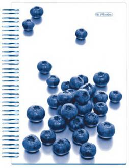 Блокнот Herlitz BLUEBERRY A6 200 листов 11082567 11082567