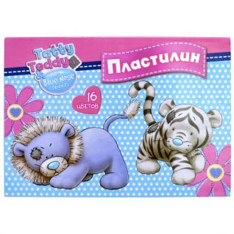 Пластилин Action! TATTY TEDDY 16 цветов BNF-AMC16-320