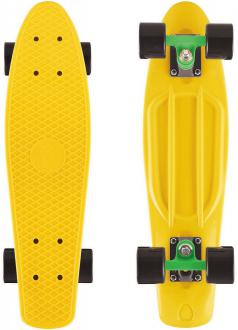 "Скейтборд Y-SCOO Big Fishskateboard 27"" RT винил 68,6х19 с сумкой GREEN/black 402-G"
