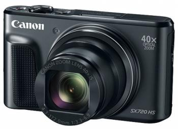 Фотоаппарат Canon PowerShot SX720 HS 20Mp 40xZoom красный 1071C002