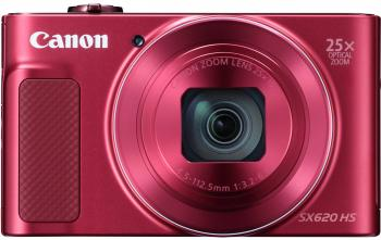 Фотоаппарат Canon PowerShot SX620 HS 20Mp 25xZoom красный 1073C002