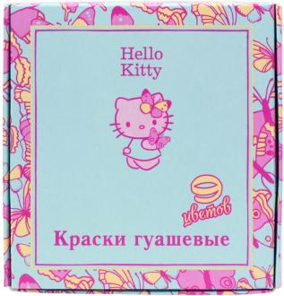 Гуашь Action! Hello Kitty 9 цветов HKO-AGP-9