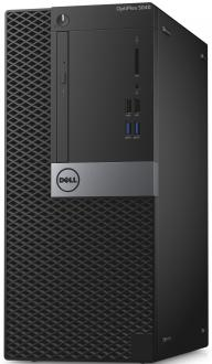 Системный блок Dell Optiplex 5040 MT i7-6700 3.4GHz 8Gb 500Gb HD 530 DVD-RW Win7Pro клавиатура мышь черный 5040-9976