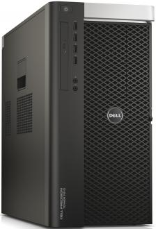 Системный блок Dell Precision T7910 E5-2620v4 2.1GHz 32Gb 1Tb 256Gb SSD DVD-RW Win7Pro Win10 клавиатура мышь черный 7910-0323
