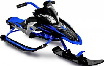 Снегокат Snow Moto Apex SNOW BIKE Titanium до 40 кг пластик металл синий YM13001