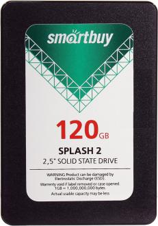 "Твердотельный накопитель SSD 2.5"" 120GB Smartbuy Splash 2 Read 500Mb/s Write 400Mb/s SATA SB120GB-SPLH2-25SAT3"