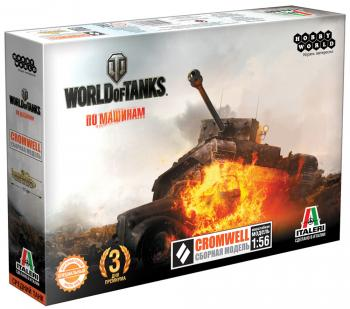 Танк Hobby World World of Tanks - Cromwell 1:56 бежевый