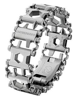 Браслет Leatherman TREAD Metric серебристый 832325