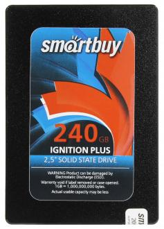"Твердотельный накопитель SSD 2.5"" 240GB Smartbuy Ignition Plus SATA SB240GB-IGNP-25SAT3"
