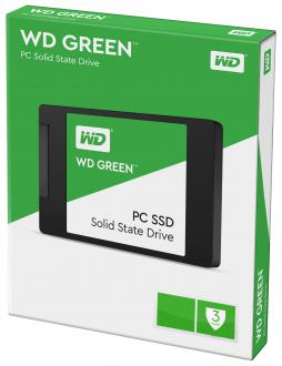"Твердотельный накопитель SSD 2.5"" 120Gb Western Digital Green Read 540Mb/s Write 430Mb/s SATAIII WDS120G1G0A"