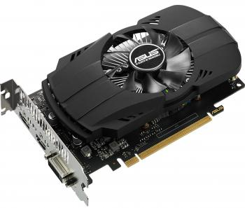 Видеокарта 4096Mb ASUS GeForce GTX1050 Ti Phoenix PCI-E 128bit GDDR5 DVI HDMI DP PH-GTX1050TI-4G Retail