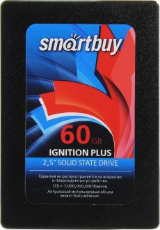 "Твердотельный накопитель SSD 2.5"" 60GB Smartbuy Ignition PLUS SSD Read 550Mb/s Write 335Mb/s SB060GB-IGNP-25SAT3"